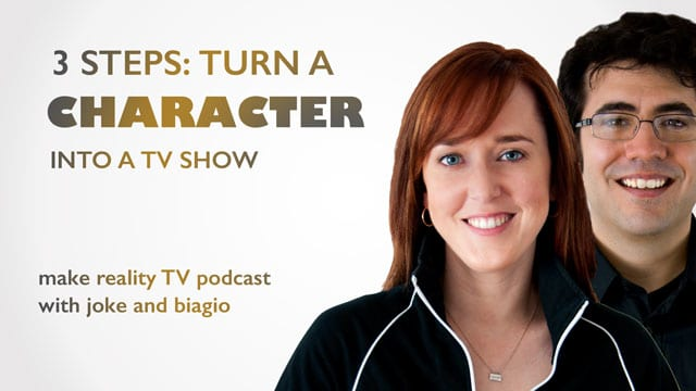 3 Steps: Turn a Character Into a TV Show