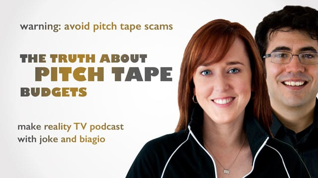 pitch tape budgets - what you need to know
