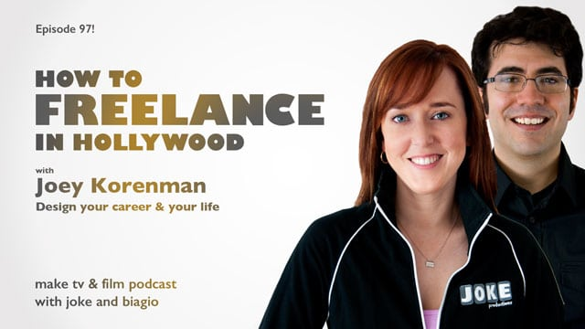 freelance in hollywood with Joey Korenman from School of Motion with Joke and Biagio