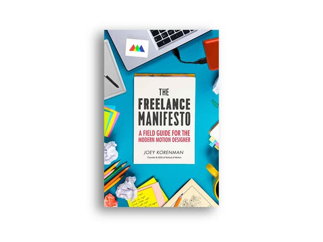 New book: The Freelance Manifesto by Joey Korenman